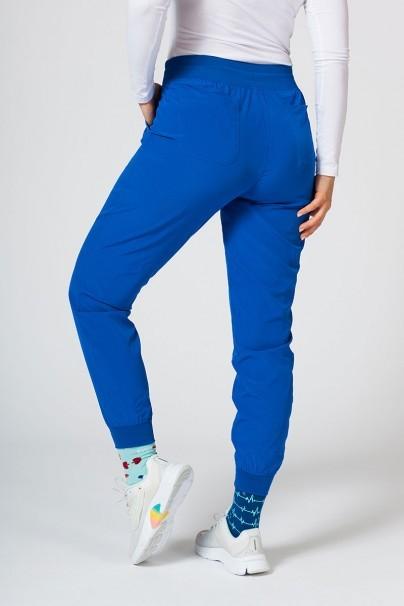 spodnie-medyczne-damskie Spodnie damskie Maevn Matrix Impulse Jogger królewski granat