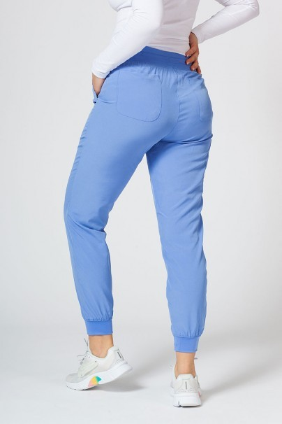 spodnie-medyczne-damskie Spodnie damskie Maevn Matrix Impulse Jogger klasyczny błękit