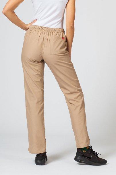 spodnie-medyczne-damskie Spodnie damskie Maevn Red Panda beżowe