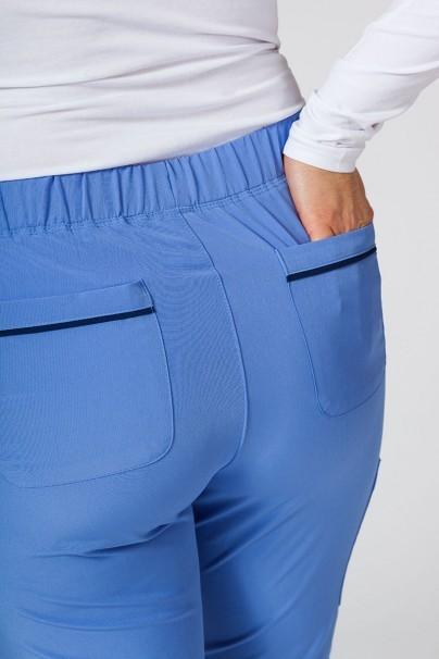 spodnie-medyczne-damskie Spodnie damskie Maevn Matrix Impulse klasyczny błękit