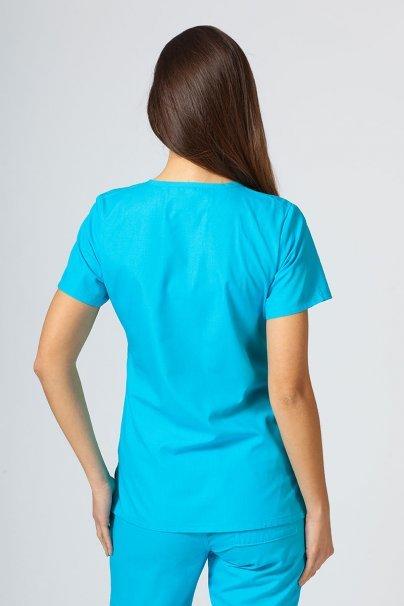 bluzy-medyczne-damskie Bluza damska Maevn Red Panda turkusowa