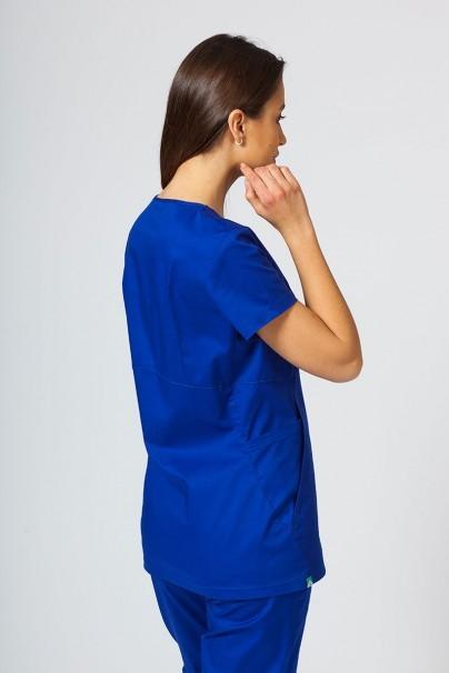 bluzy-medyczne-damskie Bluza medyczna damska Sunrise Uniforms Kangaroo (elastic) granatowa