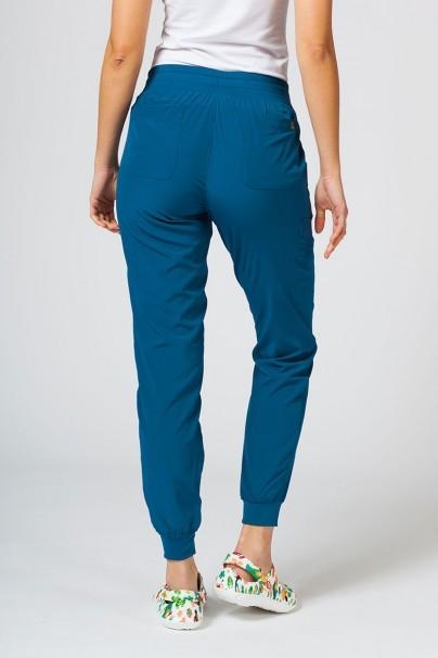 spodnie-medyczne-damskie Spodnie damskie Maevn Matrix Impulse Jogger karaibski błękit