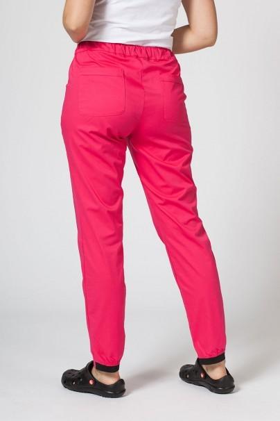 spodnie-medyczne-damskie Spodnie medyczne Sunrise Uniforms Active (elastic) malinowe