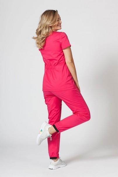 bluzy-medyczne-damskie Bluza medyczna damska Sunrise Uniforms Fit (elastic) malinowa