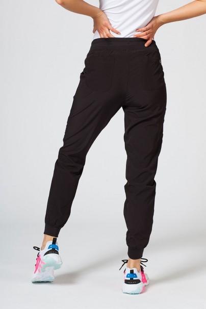 spodnie-medyczne-damskie Spodnie damskie Maevn Matrix Impulse Jogger czarne