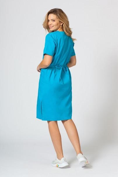 sukienki Sukienka medyczna damska prosta Sunrise Uniforms turkusowa