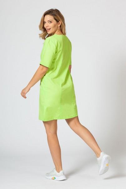 sukienki Sukienka medyczna damska klasyczna Sunrise Uniforms limonka