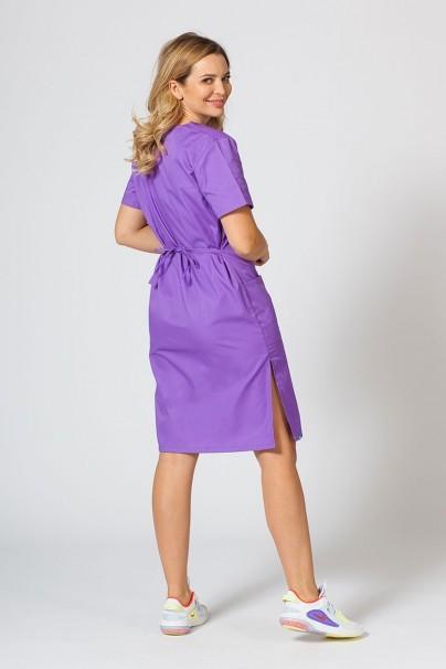 sukienki Sukienka medyczna damska prosta Sunrise Uniforms fioletowa