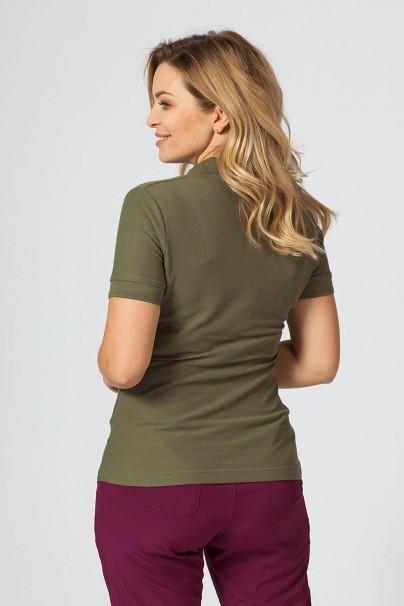 polo-damskie Koszulka damska Polo khaki