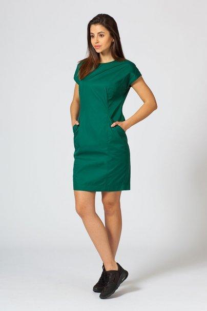 sukienki Sukienka Sunrise Uniforms Elite butelkowa zieleń