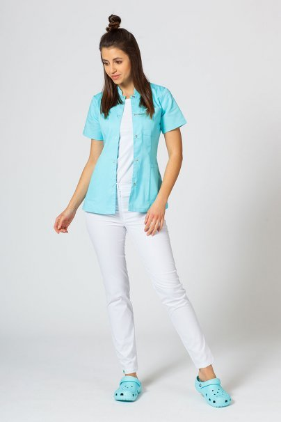 zakiety Żakiet ze stójką Sunrise Uniforms aqua