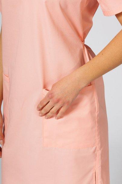 sukienki Sukienka medyczna damska prosta Sunrise Uniforms łososiowa