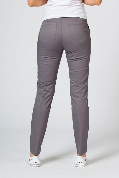 spodnie-medyczne-damskie Spodnie medyczne damskie Sunrise Uniforms Slim (elastic) szare