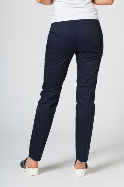 spodnie-medyczne-damskie Spodnie medyczne damskie Sunrise Uniforms Slim (elastic) ciemny granat