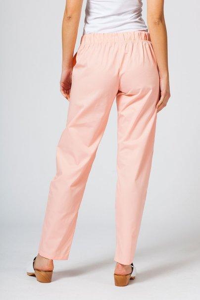 spodnie-medyczne-damskie Spodnie medyczne uniwersalne Sunrise Uniforms łososiowe