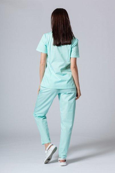 komplety-medyczne-damskie Komplet medyczny Sunrise Uniforms miętowy (z bluzą taliowaną)