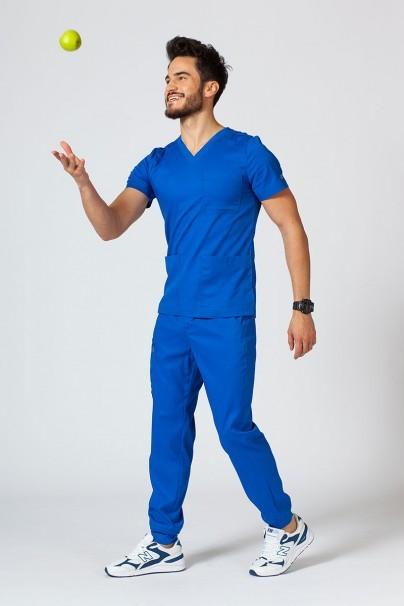 bluzy-medyczne-meskie Bluza męska Maevn Matrix Men królewski granat