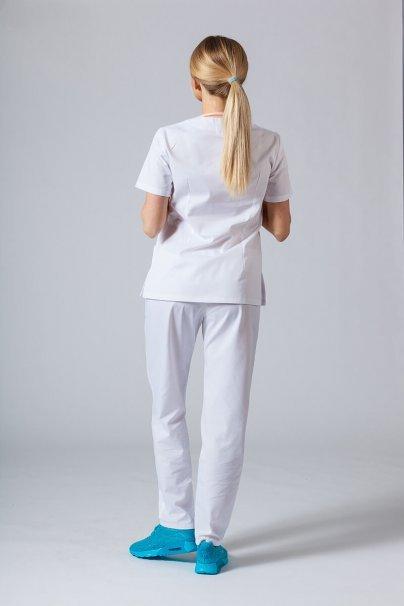 komplety-medyczne-damskie Komplet medyczny Sunrise Uniforms biały (z bluzą taliowaną)