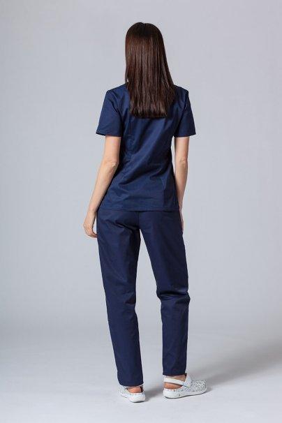 komplety-medyczne-damskie Komplet medyczny Sunrise Uniforms ciemny granat (z bluzą taliowaną)