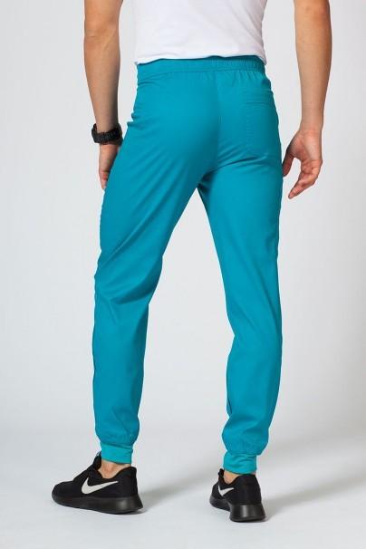 spodnie-medyczne-meskie Spodnie męskie Maevn Matrix Men jogger morski błękit