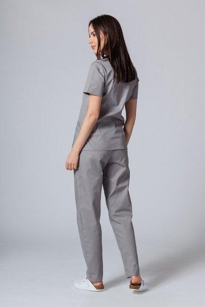 komplety-medyczne-damskie Komplet medyczny Sunrise Uniforms szary (z bluzą taliowaną)