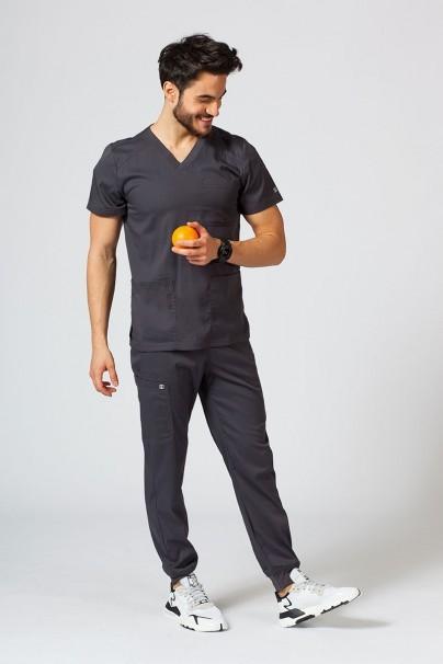 spodnie-medyczne-meskie Spodnie męskie Maevn Matrix Men jogger szare
