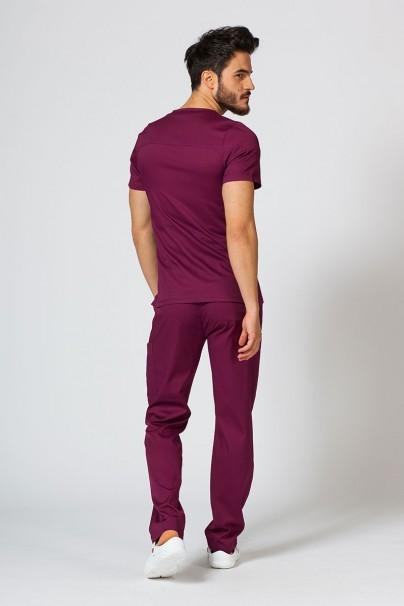 spodnie-medyczne-meskie Spodnie męskie Maevn Matrix Men Classic wiśniowa
