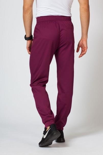spodnie-medyczne-meskie Spodnie męskie Maevn Matrix Men jogger wiśniowe