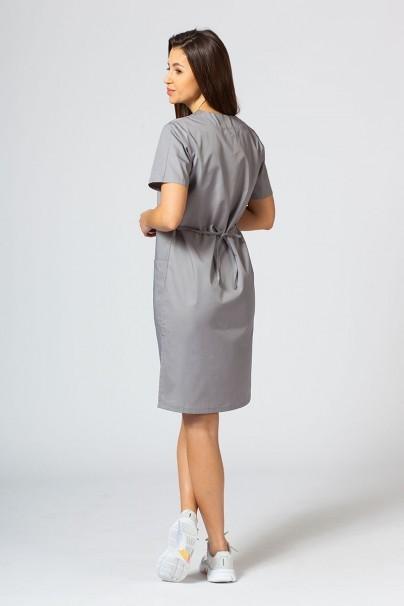 sukienki Sukienka medyczna damska prosta Sunrise Uniforms szara