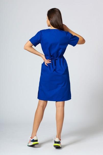 sukienki Sukienka medyczna damska prosta Sunrise Uniforms granatowa