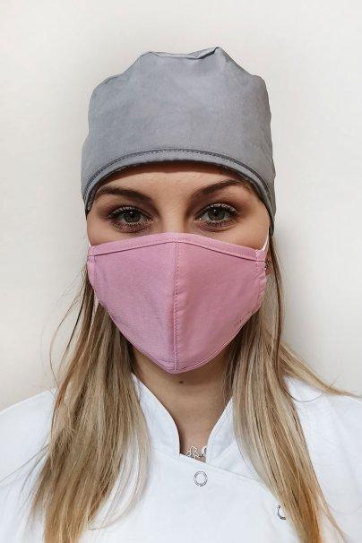 maski-ochronne Maska ochronna Maevn, 2-warstwowa (z technologią AGION®), unisex, różowa