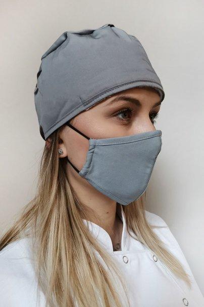 maski-ochronne Maska ochronna Maevn, 2-warstwowa (z technologią AGION®), unisex, szara