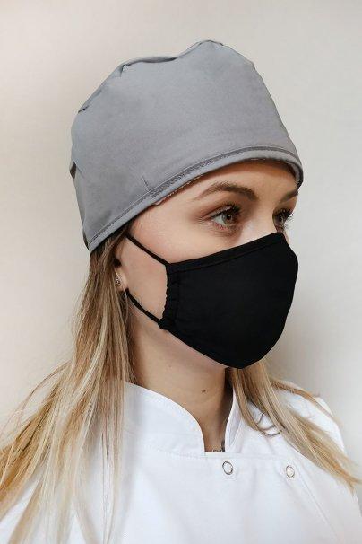 maski-ochronne Maska ochronna Maevn, 2-warstwowa (z technologią AGION®), unisex, czarna