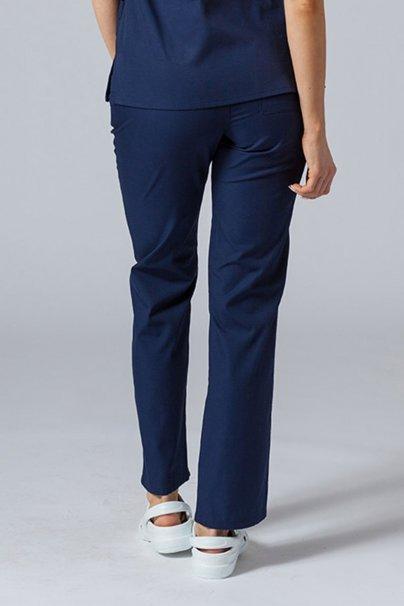 spodnie-medyczne-damskie Spodnie damskie Maevn Red Panda ciemny granat