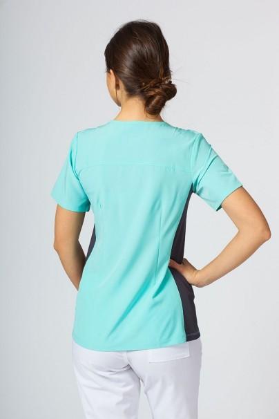 bluzy-medyczne-damskie Bluza damska Maevn Matrix Impulse Asymetric miętowa