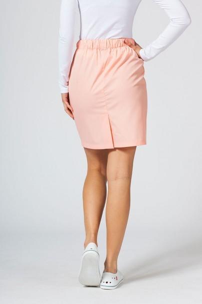spodnice Spódnica medyczna krótka Sunrise Uniforms łososiowa
