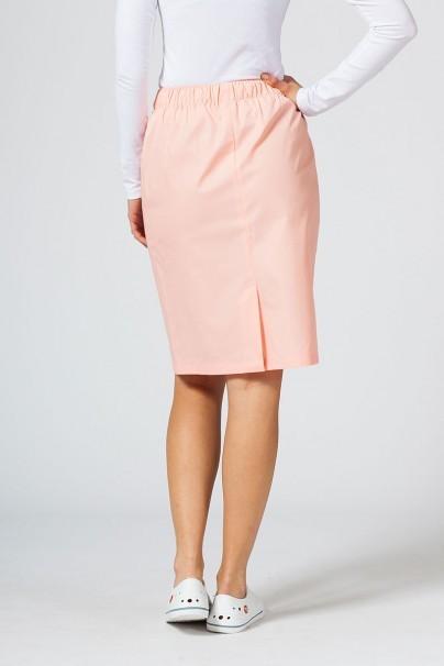 spodnice Spódnica medyczna długa Sunrise Uniforms łososiowa