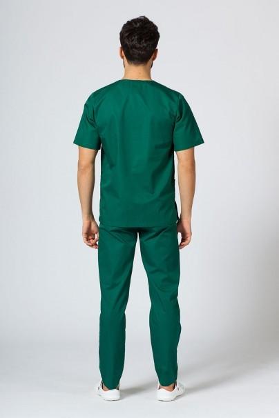bluzy-medyczne-meskie Bluza medyczna uniwersalna Sunrise Uniforms butelkowa zieleń