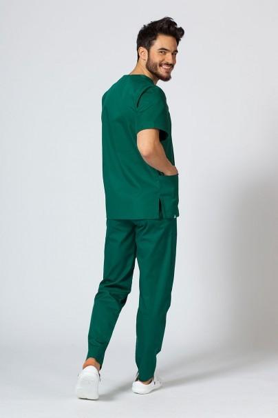 komplety-medyczne-meskie Komplet medyczny męski Sunrise Uniforms butelkowa zieleń (z bluzą uniwersalną)