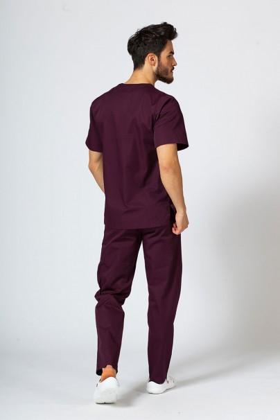 komplety-medyczne-meskie Komplet medyczny męski Sunrise Uniforms burgundowy (z bluzą uniwersalną)