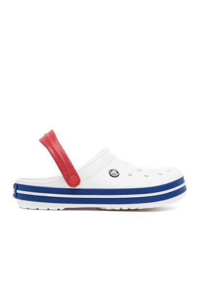 obuwie-medyczne-damskie Obuwie Crocs™ Classic Crocband białe/blue jean