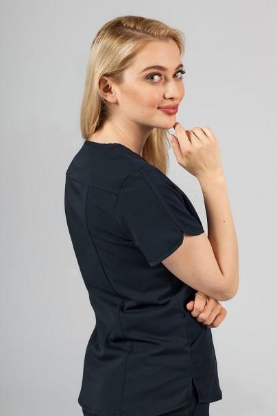 bluzy-medyczne-damskie Bluza damska Adar Uniforms Modern ciemny granat