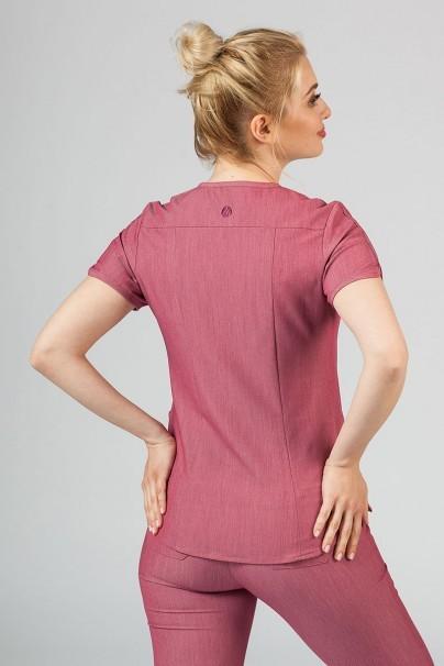 bluzy-medyczne-damskie Bluza damska Adar Uniforms Modern wrzosowa