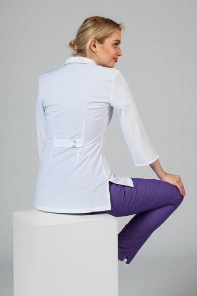fartuchy-medyczne-damskie Fartuch medyczny damski 3/4 Maevn Smart Classic biały (elastic)