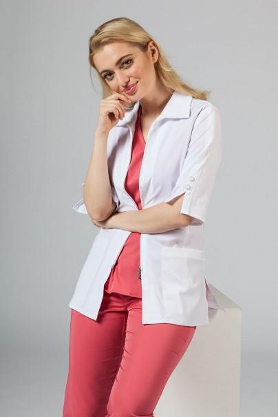 fartuchy-medyczne-damskie Fartuch medyczny damski Maevn Smart Classic biały (elastic)