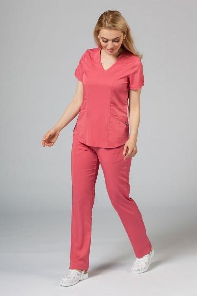 bluzy-medyczne-damskie Bluza damska Adar Uniforms Modern różowa