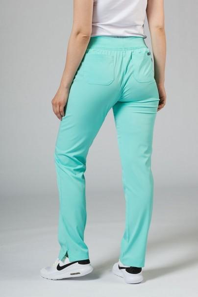 spodnie-medyczne-damskie Spodnie damskie Adar Uniforms Leg Yoga aqua