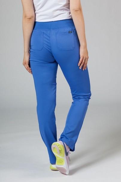 spodnie-medyczne-damskie Spodnie damskie Adar Uniforms Leg Yoga klasyczny błękit