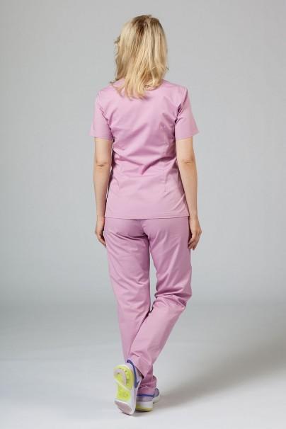 bluzy-medyczne-damskie Bluza medyczna damska Sunrise Uniforms liliowa taliowana